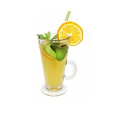 Мандариновый чай с мятой