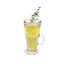 Имбирно-медовый чай с тимьяном